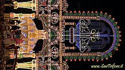 Processione del Quadro ed accensione  Luminarie (2013)