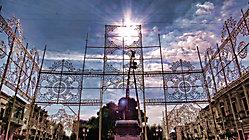 Allestimento luminarie - anno 2015