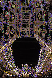 Luminarie a San TRIFONE - day and night